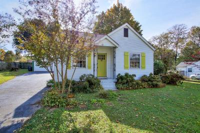 Nashville Single Family Home Under Contract - Showing: 243 Wheeler Ave