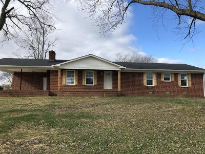Shelbyville Single Family Home For Sale: 392 Adams Rd