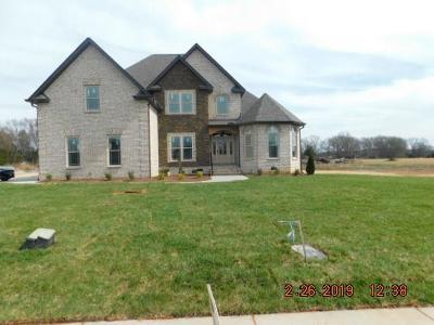 Christiana Single Family Home For Sale: 1218 Alex Walker Dr
