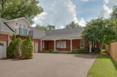 Nashville Condo/Townhouse For Sale: 201 A Woodmont Cir