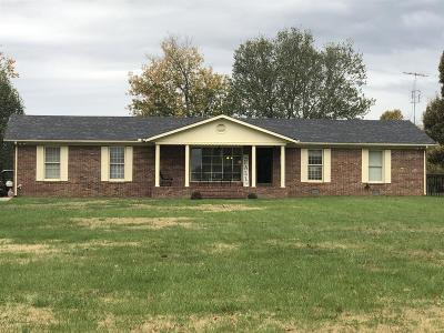 Shelbyville Single Family Home For Sale: 3395 Midland Rd