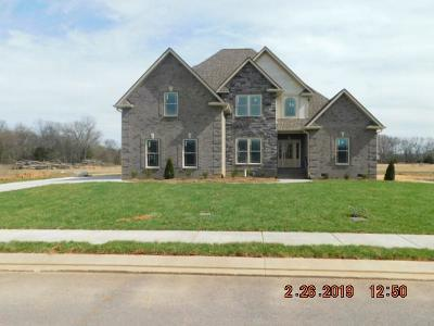 Christiana Single Family Home For Sale: 1232 Alex Walker Dr