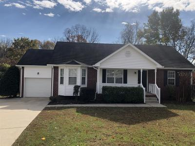 Mount Juliet Single Family Home Under Contract - Showing