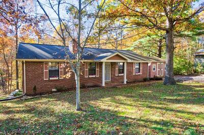 White House Single Family Home For Sale: 1022 Hilltop Rd
