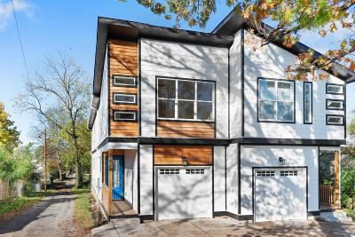 Nashville Single Family Home For Sale: 2501 A N 16th St