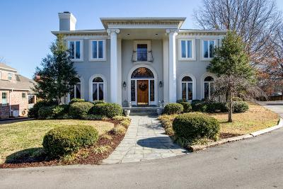 Nashville Single Family Home For Sale: 100 The Commons Dr