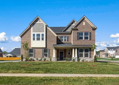 Nolensville TN Single Family Home Under Contract - Not Showing: $549,990
