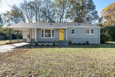 Single Family Home For Sale: 911 Drummond Dr