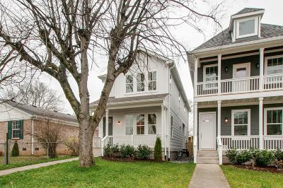 Nashville Single Family Home For Sale: 5403 A Louisiana Ave