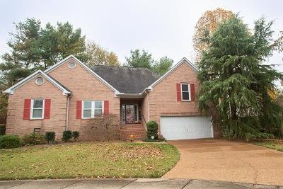 Franklin TN Single Family Home For Sale: $412,500