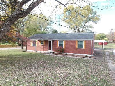Murfreesboro Single Family Home Under Contract - Not Showing: 1431 Atlas St