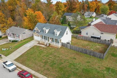 Clarksville Single Family Home For Sale: 1573 Cedar Springs Cir