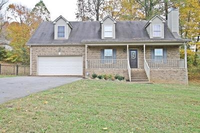 Springfield Single Family Home Under Contract - Not Showing: 808 Hunters Crossing Ln