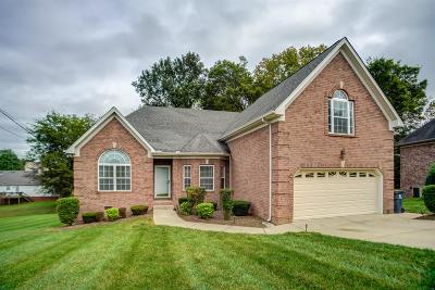 Mount Juliet Single Family Home For Sale: 562 Summit Way