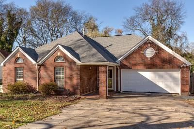 Old Hickory Single Family Home Under Contract - Showing: 4492 South Trace Blvd.