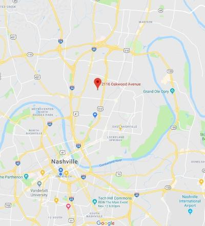 Nashville Residential Lots & Land For Sale: 2116 Oakwood