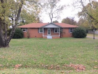 Lavergne Single Family Home For Sale: 135 Vaughn St