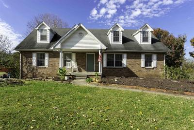 Clarksville Single Family Home Under Contract - Showing: 528 Morrison Dr