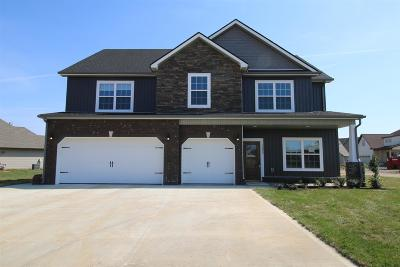 Clarksville Single Family Home Under Contract - Not Showing: 137 Hickory Wild