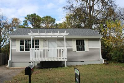 Single Family Home For Sale: 807 Petway Ave