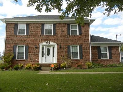 Clarksville Rental For Rent: 3314 Carrie Drive