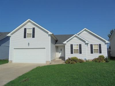 Clarksville Rental For Rent: 1024 Cindy Jo Ct