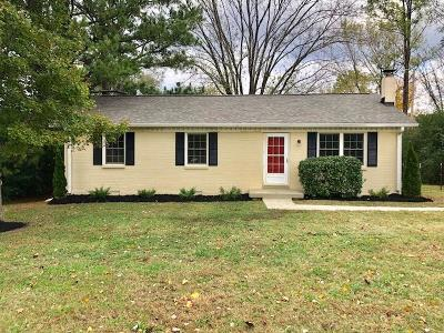 Pegram Single Family Home For Sale: 5594 Harpeth Haven Dr