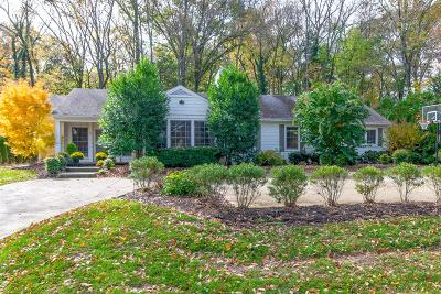 Nashville Single Family Home Under Contract - Showing: 4315 Signal Hill Drive