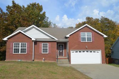 Clarksville Rental For Rent: 1712 Ridge Runner Ct
