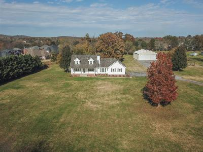 Single Family Home Under Contract - Showing: 7220 Burnt Knob Rd