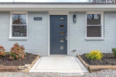 East Nashville Single Family Home Under Contract - Showing: 1511 Andy Street