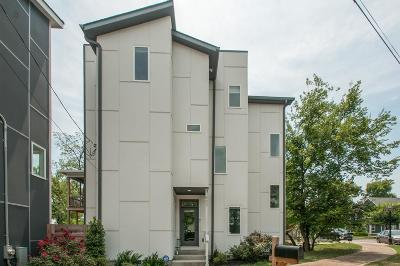 Nashville Single Family Home For Sale: 607 Coffee St