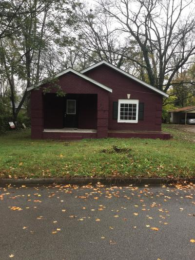 Murfreesboro Single Family Home For Sale: 312 S S Bilbro