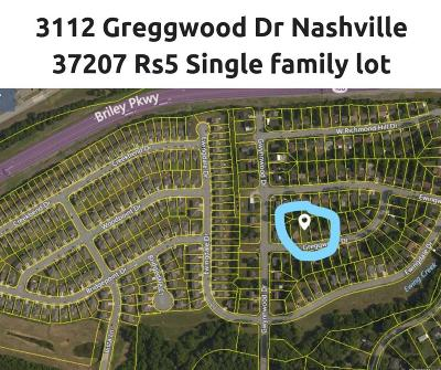 Nashville Residential Lots & Land For Sale: 3112 Greggwood Dr