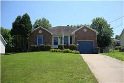Clarksville Rental For Rent: 126 Whitehall Drive