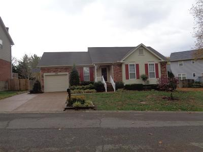 Goodlettsville Single Family Home Under Contract - Showing: 103 Southampton Ct