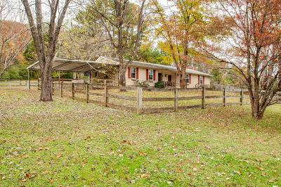 Nashville Single Family Home For Sale: 8354 Cub Creek Rd