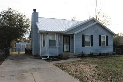Christian County, Ky, Todd County, Ky, Montgomery County Single Family Home Under Contract - Showing: 372 Donna Dr