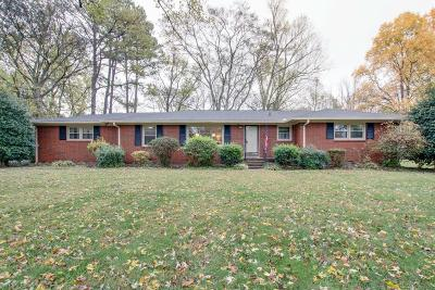 Murfreesboro Single Family Home Under Contract - Showing: 1111 Houston Dr