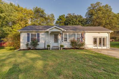 Gallatin Single Family Home For Sale: 1009 Edgewood Dr