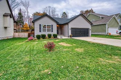Clarksville Single Family Home Under Contract - Showing: 423 Leslie Wood Dr