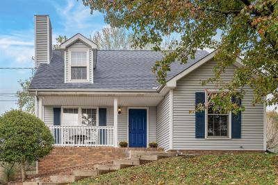 Clarksville Single Family Home Under Contract - Not Showing: 725 Clayton Dr