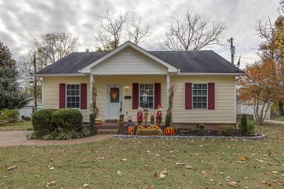 Old Hickory Single Family Home For Sale: 1204 Cleves St
