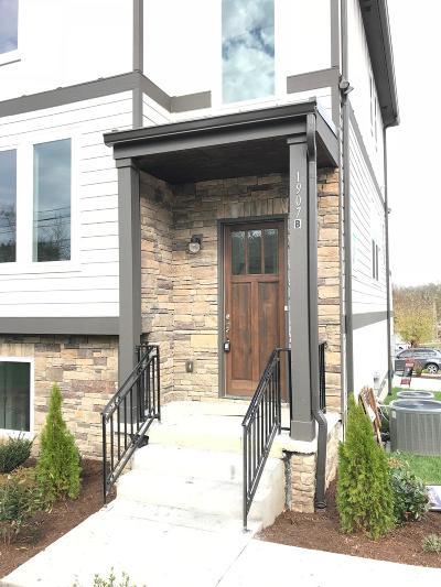Nashville Single Family Home For Sale: 1907 B Cahal Ave