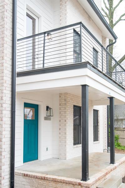 Nashville Single Family Home For Sale: 1813 Beech Ave Unit 5