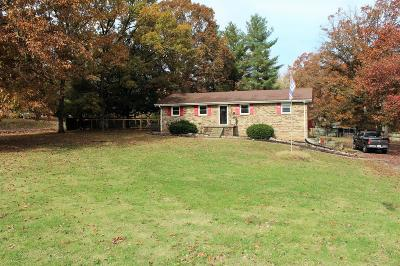 Dickson Single Family Home For Sale: 462 Furnace Hollow Rd