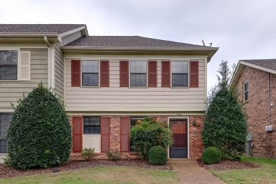 Nashville Condo/Townhouse For Sale: 1352 General George Patton Rd
