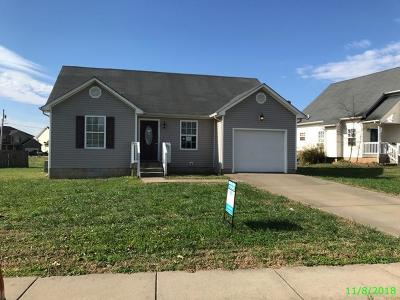 Christian County Single Family Home For Sale: 111 N. Cavalcade Circle