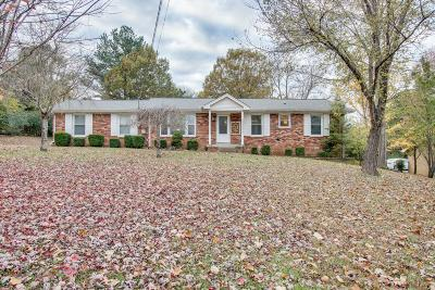 Hendersonville Single Family Home For Sale: 454 Sanders Ferry Rd