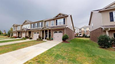 Hendersonville Condo/Townhouse For Sale: 107 Cattail Ln